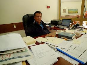 Photo: Bedran Hebib, director of Aras Publishing House, Hawler (Erbil) 2011