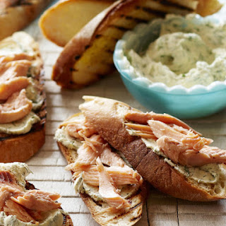 Smoked Trout Bruschetta