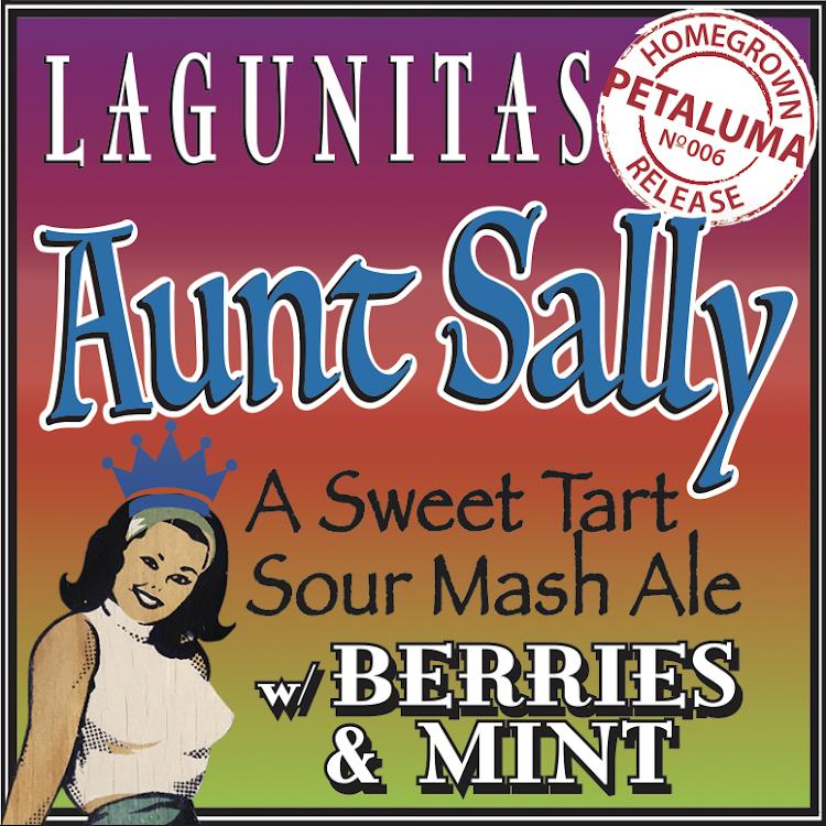 Logo of Lagunitas Aunt Sally W/Berries & Mint