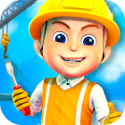 Construction City For Kids icon