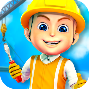 Construction City For Kids for PC and MAC
