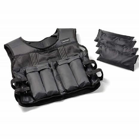 Tunturi Adjustable Weighted Vest - 15kg