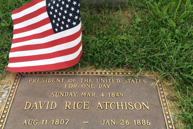 Image result for David Rice Atchison grave