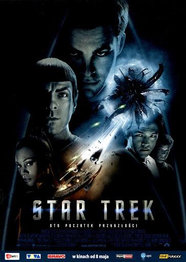 Przód ulotki filmu 'Star Trek'