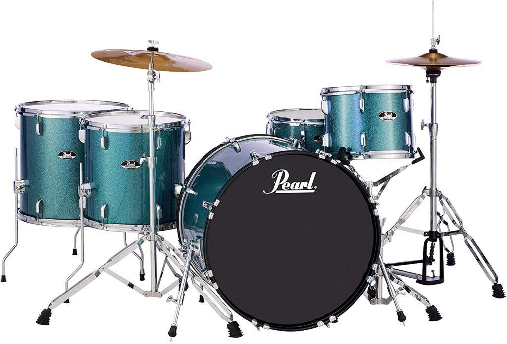 Pearl Roadshow 5 Piece Complete Drum Set
