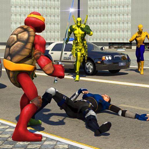 Ninja Warrior VS Superheroes Revenge