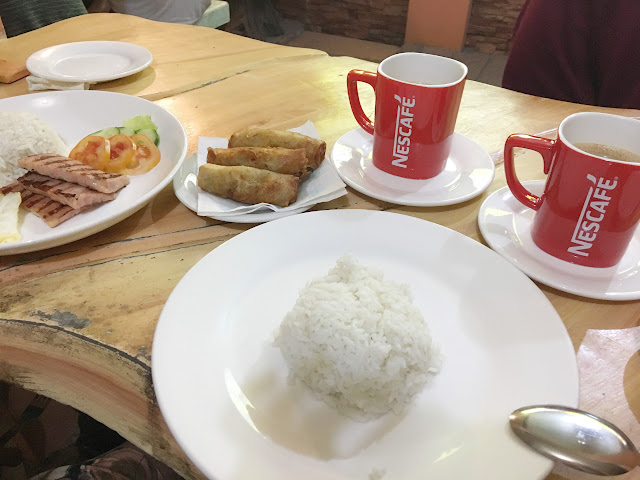 Fely's Store and Canteen Hamsilog and Lumpia
