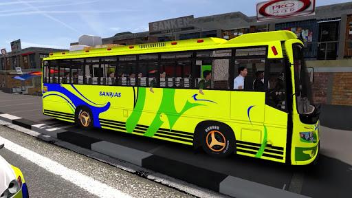 Bus Simulator Game 3D:Tourist Indonesia Heavy Bus  screenshots 1