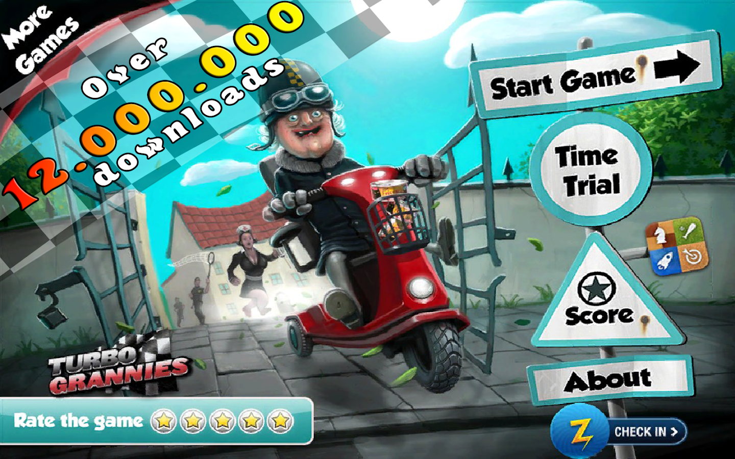 Turbo Grannies FREE- screenshot