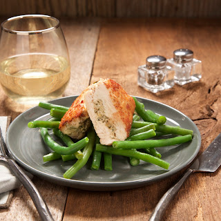 Stuffed Chicken Breast with Lemon-Artichoke Pesto.