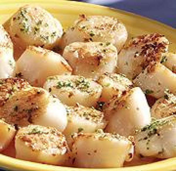 Seared Scallops With Mediterranean Herb Butter Recipe