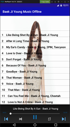 baek ji young music offline screenshot 3
