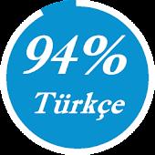 94% Türkçe