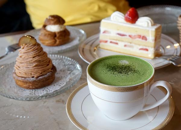 跳躍的宅男 - 昭和58懷舊咖啡廳 小山園抹茶洋菓子 金時蒙布朗蛋糕 抹茶霜淇淋 還有心中的那塊柔軟與感動