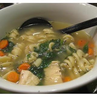 Turkey Soup.