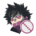 Boku No Hero Academia Color By Number Pixel Art icon