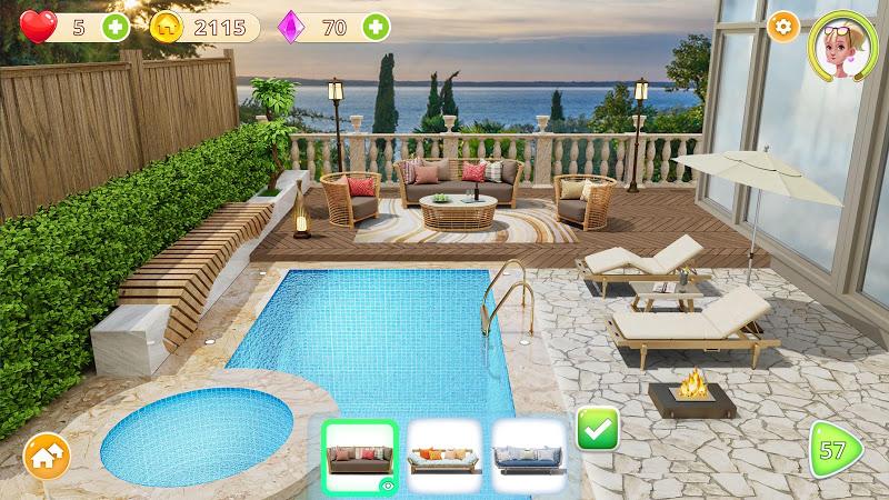 Homecraft - Home Design Game Screenshot 5