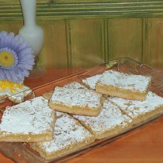 Meyer Lemon Cookie Bars