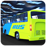 Tourist Bus Parking Transport Coach Driving Sim 3D Icon