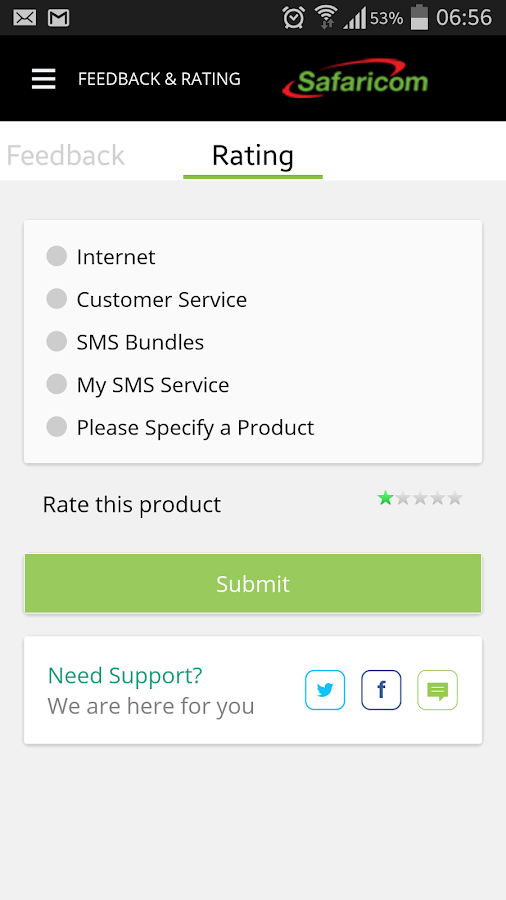MySafaricom- screenshot