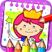 Princess Coloring Book & Games icon