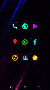 Neon Glow – Icon Pack v8.2.0 5