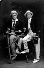 Photo: Turn of the century gentlemen