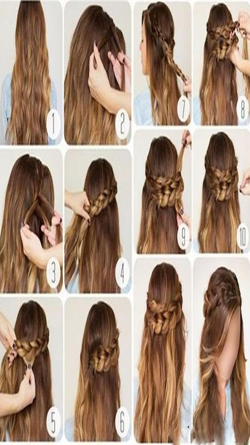 Hairstyle Changer hair changer apps Hairstyle Changer For Girl Screenshot