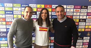 Sebas Fernández, Carmen Martín y Juanjo Segura.