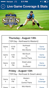 American Legion World Series- screenshot thumbnail
