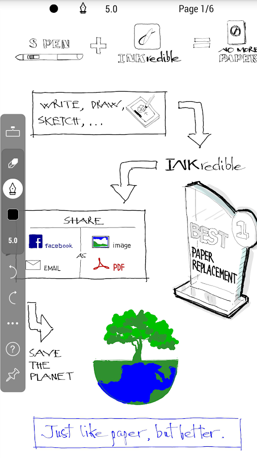 INKredible PRO- screenshot