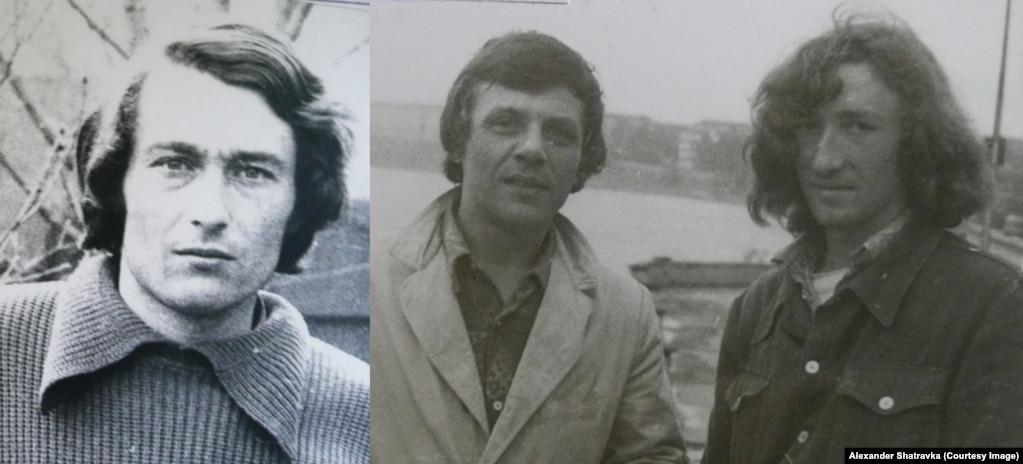 Трое участников побега: Анатолий, Борис и Александр