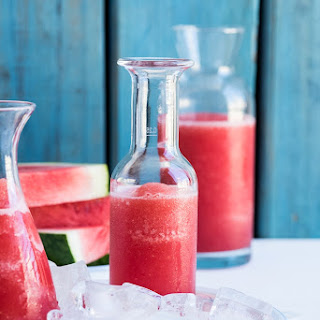 Frozen Watermelon Lemonade.
