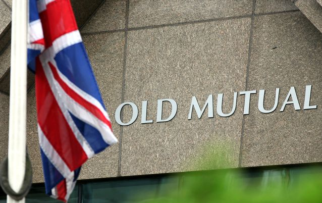 Old Mutual. Picture: BLOOMBERG/SIMON DAWSON