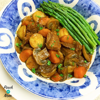 Half Syn Rustic Slow Cooked Beef Steak One Pot | Slimming World.