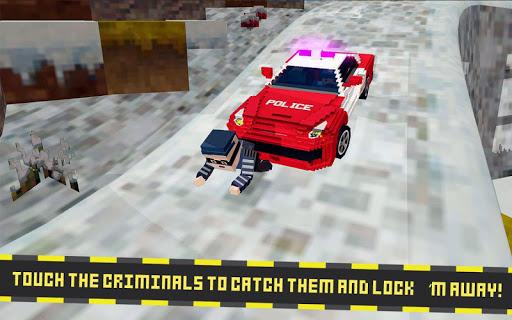 blocky san andreas swat police screenshot 2