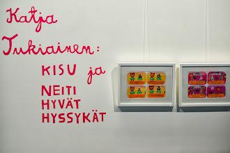 Photo: Sanomatalossa sijaitsevassa Galleria Art Kaarisillassa löytyy Katja Tukiaisen näyttely