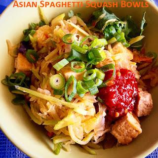 Asian Spaghetti Squash Bowls