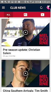 Melbourne Official App- screenshot thumbnail