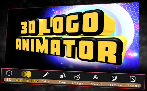 3D Text Animated-3D Logo Animations;3D Video Intro Apk 2