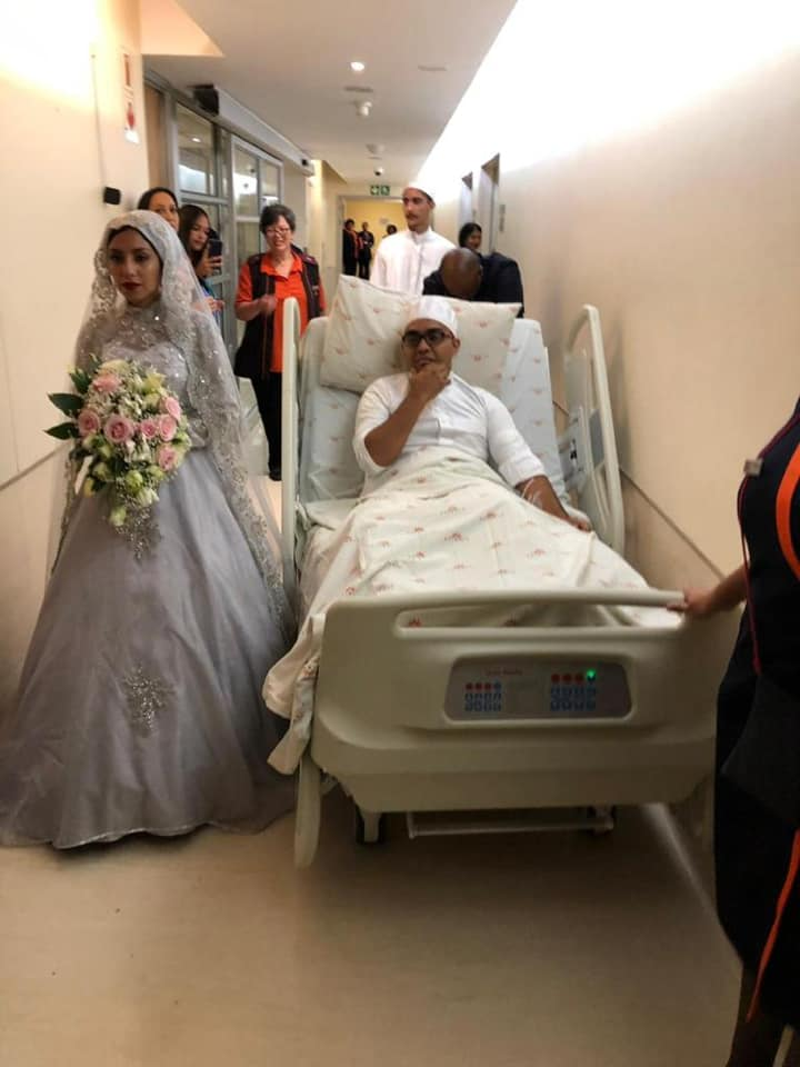 Groom Weds In Hospital Bed After Surviving Robbery On Eve Of Ceremony