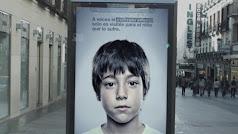 Campaña contra el maltrato infantil.