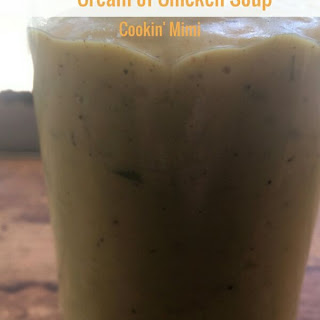 Easy Homemade Condensed Cream of Chicken Soup