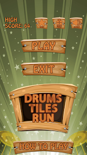 Drums Tiles Run- screenshot thumbnail