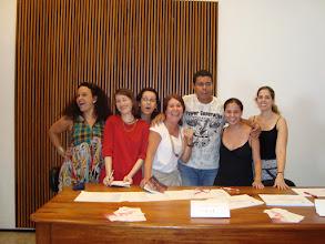 Photo: Parte do grupo da REDARTE/RJ: Márcia Claudia (CEDOC/FUNARTE), Isabel Grau (Presidente, bibliotecária da UNIRIO), Eliane Vieira da Silva (MHN), Selma Crespo (UNICARIOCA), Alan Luiz e SIlva Ramos (MAC/Niterói), Ana Paula Toledo (BNS/IPHAN) e Caroline Brito de Oliveira (CEDOC/FUNARTE).