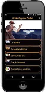 Bíblia Sagrada Online Grátis - náhled