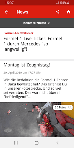 Formel1.de  screenshots 2