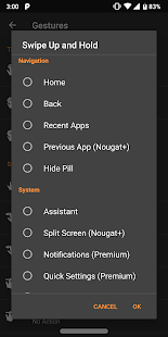 Navigation Gestures Premium Add-On Screenshot