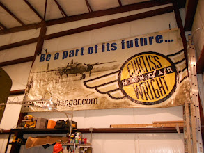 Photo: The famous Curtis Wright hangar ... more on that later