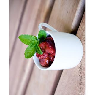 Slow-Roasted Balsamic Strawberries